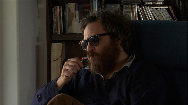 Actor turned hip-hop musician? Joaquin Phoenix in