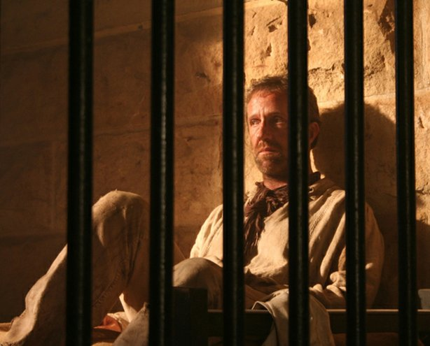"""Re-creation of a jail for the program """"Secrets Of The Dead: Irish Escape."""" Th..."""