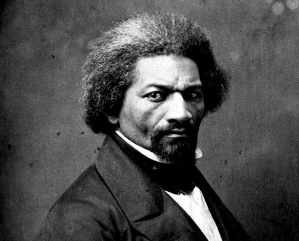Photo of Frederick Douglass, one of the foremost leaders of the abolitionist movement, who was also a licensed preacher at the African Methodist Episcopal Zion Church. Douglass condemned Christianity for sanctioning slavery.