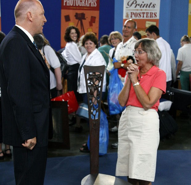 At ANTIQUES ROADSHOW in Philadelphia, Pennsylvania, appraiser John Sollo of D...