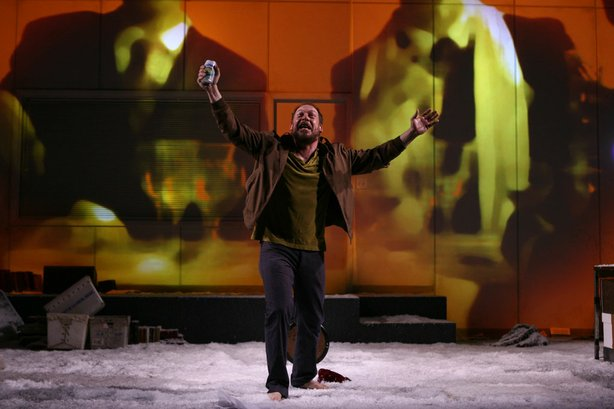 "Actor Bill Camp in the La Jolla Playhouse's production of ""Notes from Undergr..."