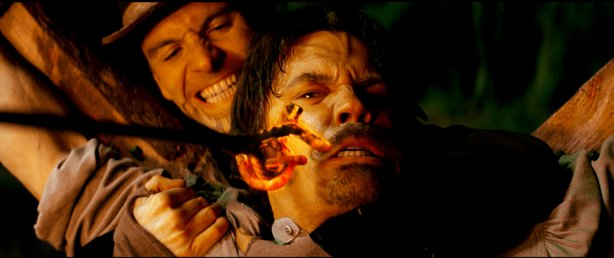 "Josh Brolin gets branded in ""Jonah Hex."""