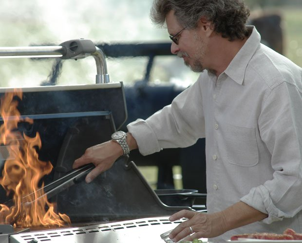 Grilling guru Steven Raichlen (pictured at his grill) returns with more of hi...