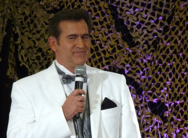 Bruce Campbell was one of the reason worth traveling to LA for the Weekend of Horrors.