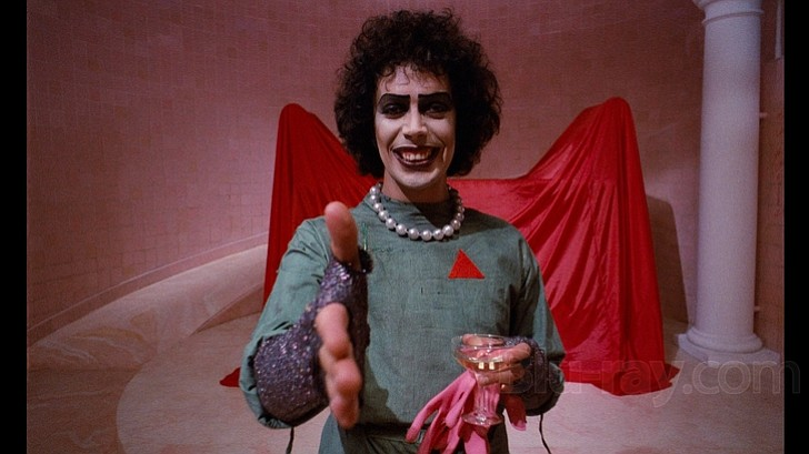 TimCurry as Dr. Frank-n-furter in the cult classic