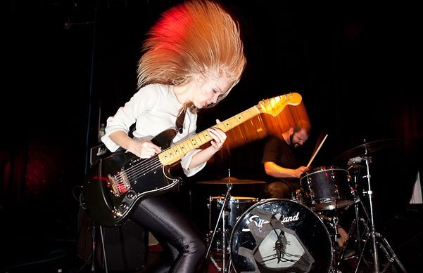 Lauren Larson is the frontwoman from the Austin-based band Ume.