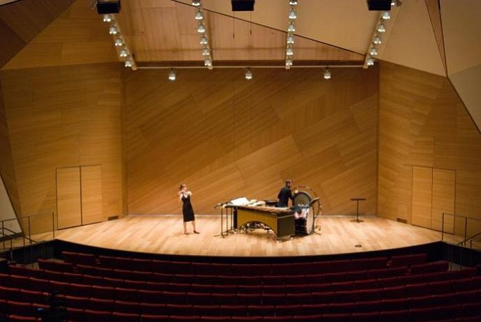 The Conrad Prebys Concert Hall on the campus of UCSD won the Grand Orchid.