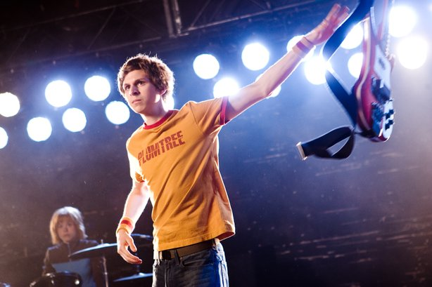 "Michael Cera as the title character in ""Scott Pilgrim Vs. the World."""
