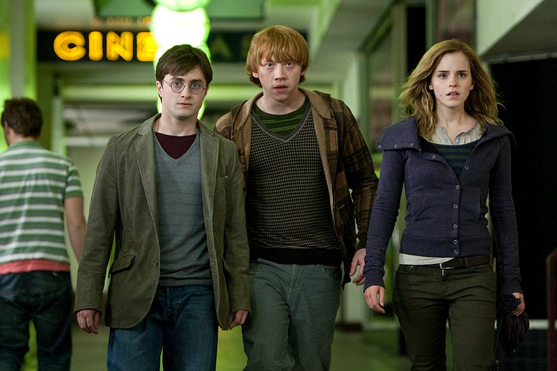 The Hogwarts kids are growing up: Daniel Radcliffe, Rupert Grint, and Emma Wa...