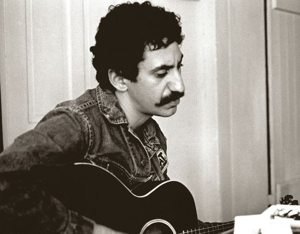 Jim Croce playing the guitar