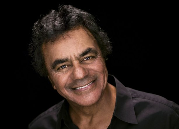 Promotional photo of Johnny Mathis.