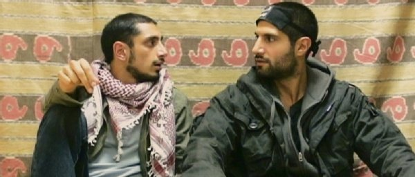 """Riz Ahmed and Kayvan Novak are incompetent terrorists in the British comedy, """"Four Lions."""""""
