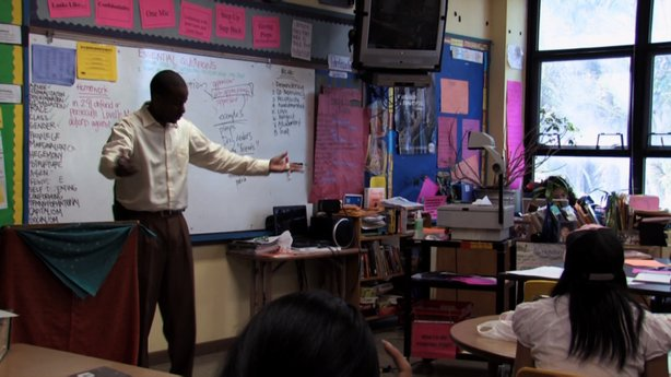 "One of the teachers in the documentary ""Race to Nowhere."""