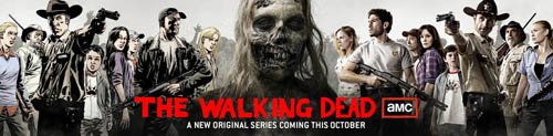 These Walking Dead banners were everywhere at this year's Comic-Con International.
