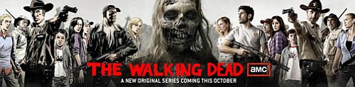 These Walking Dead banners were everywhere at this year's Comic-Con Internati...
