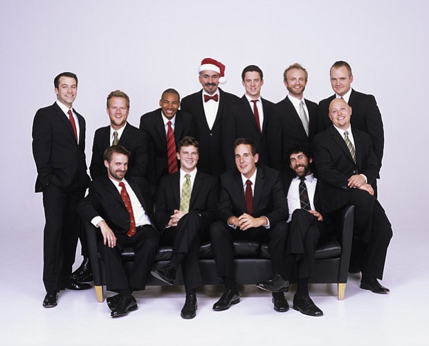 Promotional photo of Chanticleer, America's finest male chorus