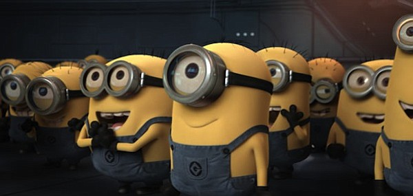 Minions! The delightful little guys from