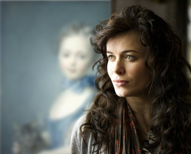 "Eve Myles as vivacious local teacher Angharad Stannard in ""Masterpiece Contem..."