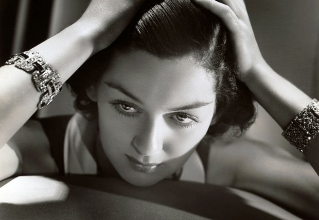 Promotional photo of Rosalind Russell, a legendary actress of Hollywood's Gol...