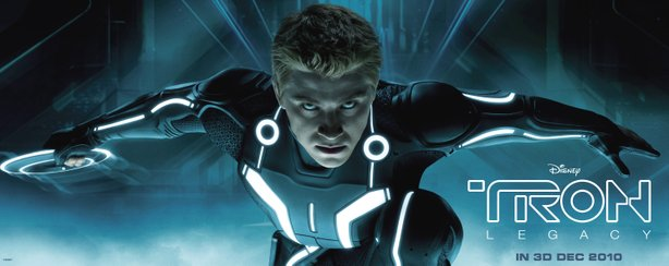 """TRON"", the next generation. Garrett Hedlund plays Jeff Bridges son in the se..."