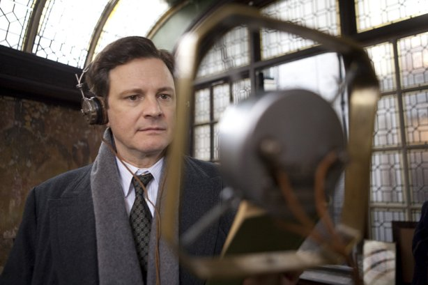 "Colin Firth plays a prince with a stammer and a need for public speaking in ""The King's Speech."""