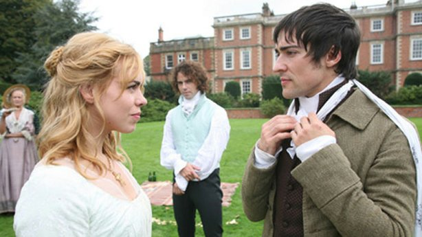 "Promotional photo of Billie Piper, Joseph Beattie, Blake Ritson from ""The Com..."