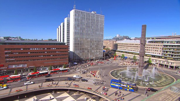 Modern Stockholm, Sweden. With nearly two million people in Stockholm's greater metropolitan area, one in five Swedes calls this city home. Once a respected military power, now famously neutral, this stately capital respects its rich heritage while embracing modern innovation.