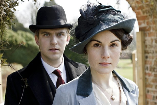 "Dan Stevens (Matthew Crawley), Michelle Dockery (Lady Mary Crawley). Created by Oscar-winning writer Julian Fellowes (""Gosford Park""), ""Downton Abbey"" depicts the lives of the noble Crawley family and the staff who serve them, set at their Edwardian country house in 1912."