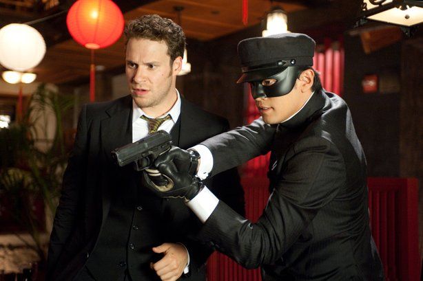 """Seth Rogen and Jay Chou are the latest incarnations of Brit Reid and Kato in Michel Gondry's """"The Green Hornet."""""""