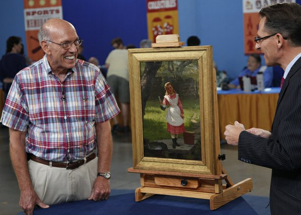 At ANTIQUES ROADSHOW in Miami Beach, Florida, this guest hoped his 1876 John ...