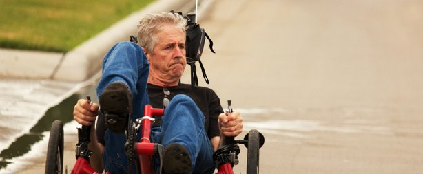 """Filmmaker Andrew Rubin is trying to raise funds for a feature documentary called """"Ride with Larry."""""""