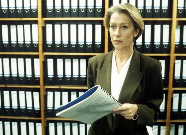 Helen Mirren as DCI Jane Tennison in PRIME SUSPECT.