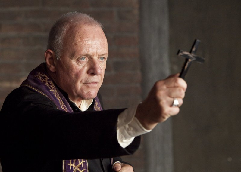 Anthony Hopkins plays a priest well versed in exorcisms in