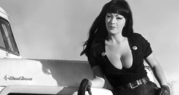 "The incomparable Tura Satana in ""Faster Pussycat Kill, Kill."""