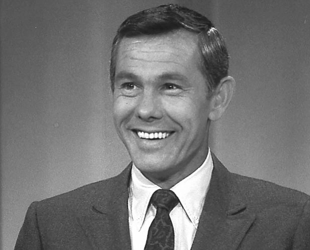 Johnny Carson, host of