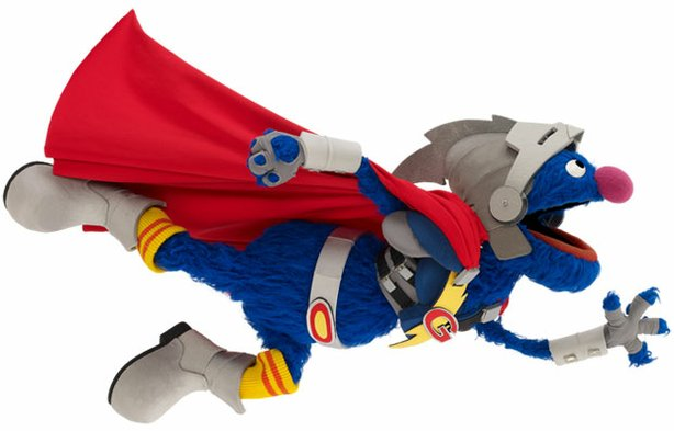 Super Grover 2.0 in flight