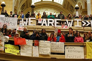 Wis. Protesters Want Gov. Walker To Compromise