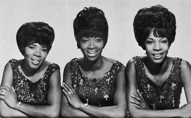 Martha and the Vandellas, one of the most successful groups of the Motown-era, pictured here in 1964.