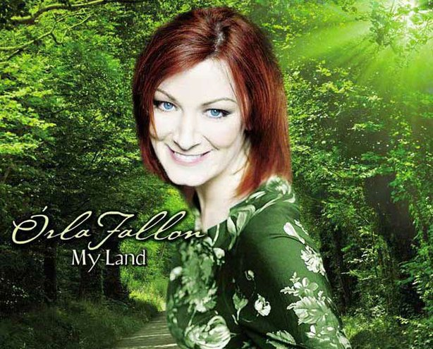 "Promotional graphic from the ""Orla Fallon's My Land"" DVD/CD."