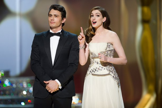 James Franco and Anne Hathaway were attractive but bland hosts for the 83rd Academy Awards.
