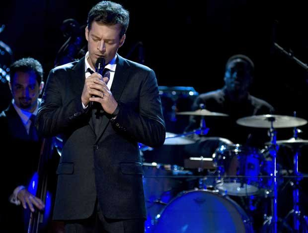 Harry Connick Jr. performs on stage in July of 2010 at New York's Neil Simon ...