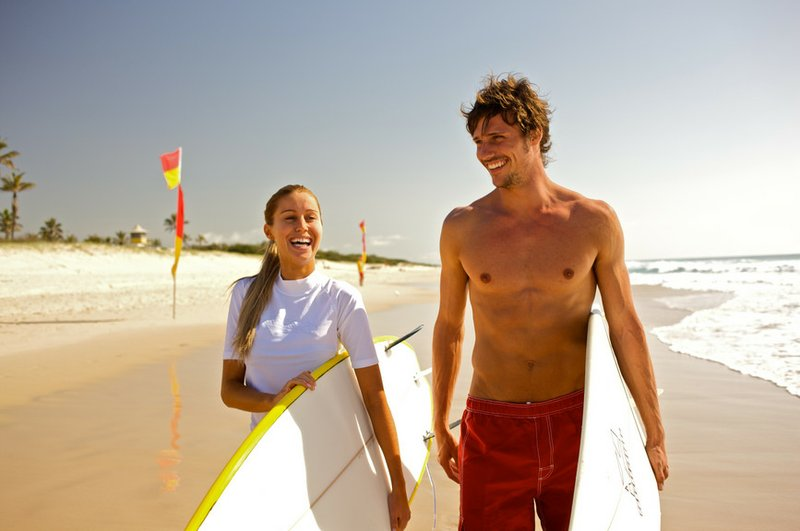 Catch a wave on your one-week walkabout tour of Australia. Paddle out at Bond...