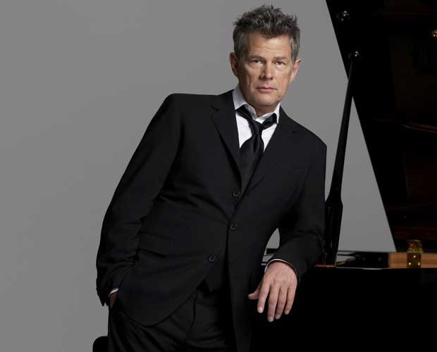 Promotional photo of the legendary songwriter/producer David Foster standing ...