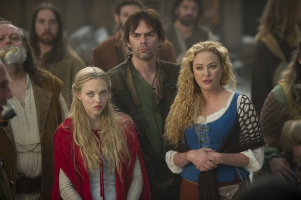 The fairy tale family of Amanda Seyfried, Billy Burke, and Virginia Madsen in...