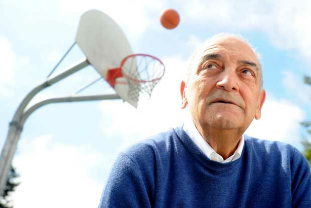 Sonny Vaccaro, former executive at Nike, Adidas and Reebok, in Berkeley, Cali...
