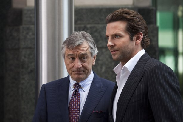 "Robert DeNiro and Bradley Cooper star in ""Limitless."""