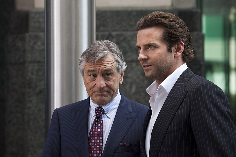 Robert DeNiro and Bradley Cooper star in