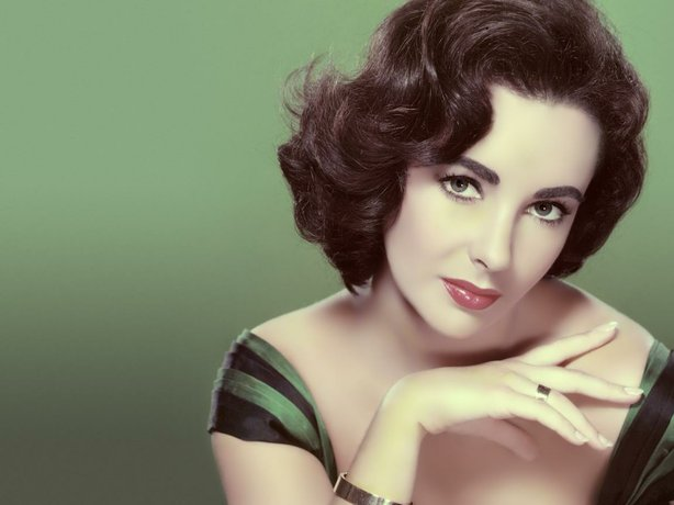 Elizabeth Taylor in her MGM days.