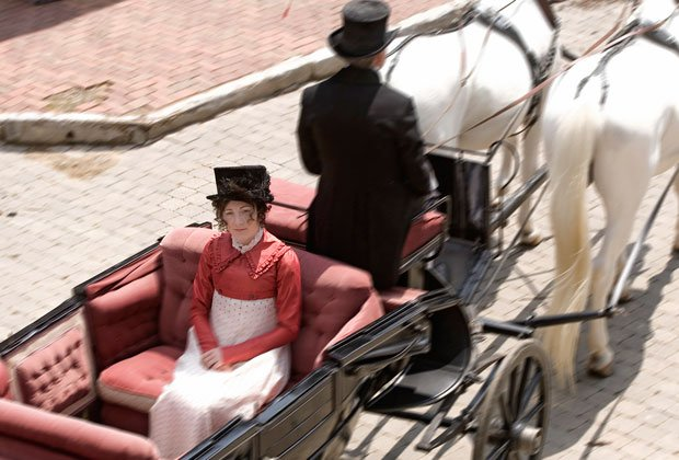 Tony Award-nominee Eve Best (pictured) as Dolley Madison. Style icon, extrava...