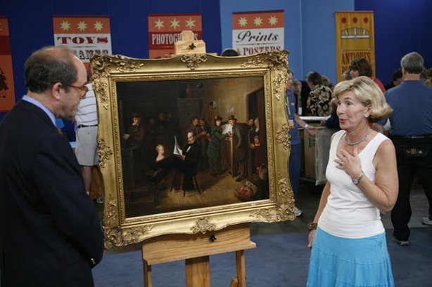 "At ""Antiques Roadshow"" in Dallas, Texas, the owner is left speechless after d..."